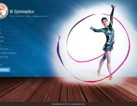 nº 71 pour Website Design for ik gymnastics LLC par vijayadesign