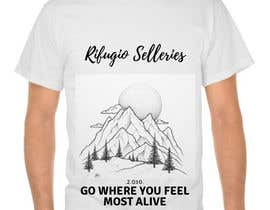 #32 for Design a t-shirt celebrating a mountain lodge by NorAsnita