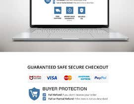 "#8 for Design secure checkout, shipping, money back guarantee icons that will go below ""Buy it Now"" button on product page by DheeruRawat"