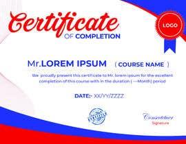 nº 16 pour Certificate Design par zestfreelancer