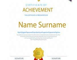 nº 15 pour Certificate Design par Ahsanhabibafsari
