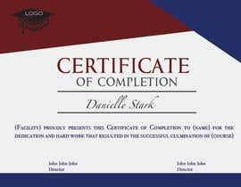 #9 for Certificate Design af TeamDanish