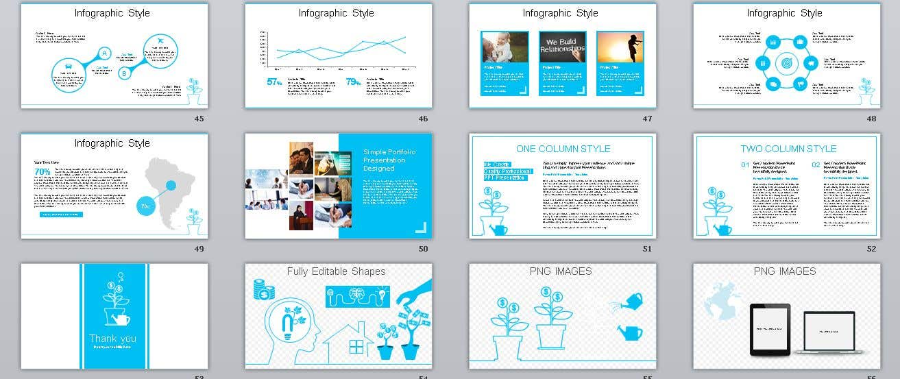 Entry 34 By Workwithhts For 6 Page Powerpoint Template For