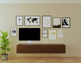 #40 for Design a photo frame wall by DohaElamin