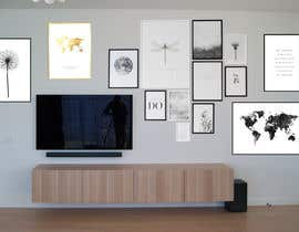 #12 for Design a photo frame wall by MhOvi01