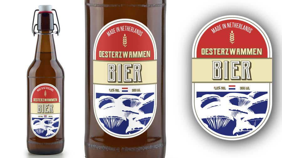 Contest Entry #49 for I need some Graphic Design: A label for a beer bottle