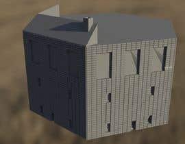 Nambari 13 ya 3D Model Miniature WW2 Building Hexagon na deltanine3d