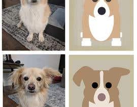 nº 1 pour Draw a clipart picture of our dog par machasibjs