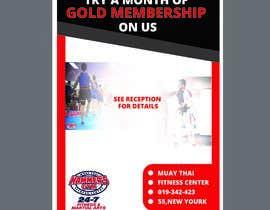 #6 untuk Upgrade to Gold Membership Flyer oleh tahmidula1