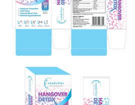 nº 3 pour Packaging Design for Hangover supplement par eling88