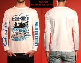 #40 for Design a long sleeve UV fishing top/hoodie af FARUKTRB