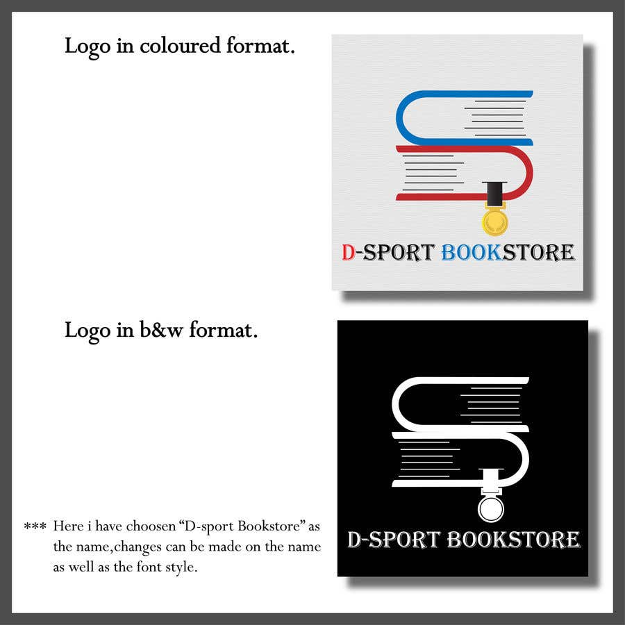 Contest Entry #38 for logo design bookshop