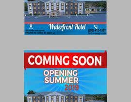 #13 for sign/banner for new hotel coming soon by youshohag799