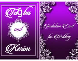 #29 for Invitation Card for Wedding by NazMalik004
