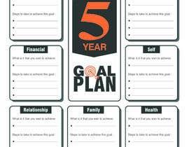 #87 para Design a new graphic for a 5 year plan activity por MDSUHAILK