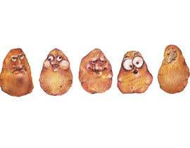nº 21 pour Draw 4 funny facial expressions - $100 for first job par vidadesign