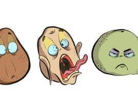 nº 25 pour Draw 4 funny facial expressions - $100 for first job par JazFloS