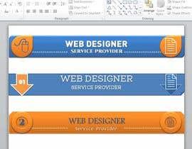 Nro 33 kilpailuun Design a Banner käyttäjältä jhapollo