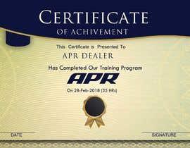 Nro 11 kilpailuun Certificate design - authenticity käyttäjältä alimohamedomar