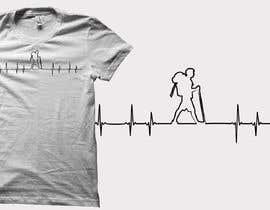 #16 untuk T-shirt design with heartbeat theme oleh audiebontia