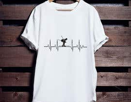 #62 for T-shirt design with heartbeat theme by pgaak2