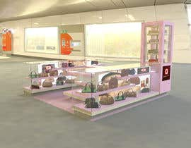 #7 for Need 3d designs for Stall for Ladies Accessories af fperezvargas