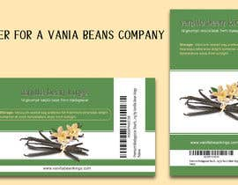 theotonious225 tarafından Design a sticker for a Vanilla Beans company için no 12