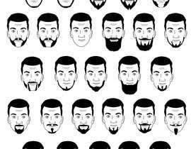 Nro 4 kilpailuun Beard Illustrations käyttäjältä giacomonegroni