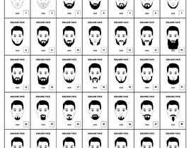 Nro 7 kilpailuun Beard Illustrations käyttäjältä letindorko2
