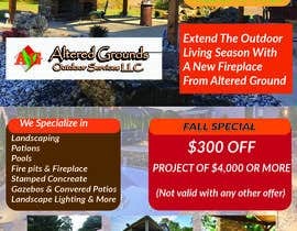 #4 for Design Advertisement For Landscaping Business by nittanandaroy