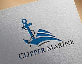 #77 for Clipper Marine Logo by tanhaakther