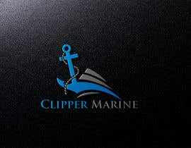 #101 for Clipper Marine Logo by tanhaakther