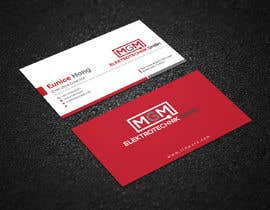 #145 for Design a business card for MGM Elektrotechnik GmbH af Uttamkumar01