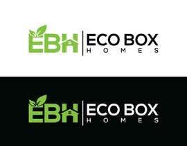 Nro 728 kilpailuun Logo for Eco Box Homes käyttäjältä ssdesignz19