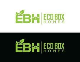 Nro 733 kilpailuun Logo for Eco Box Homes käyttäjältä ssdesignz19