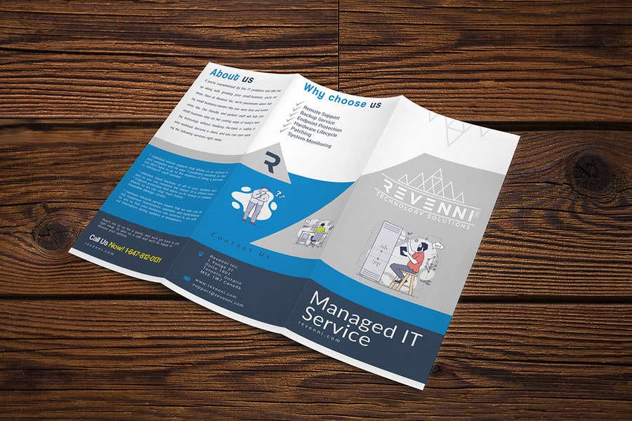 Inscrição nº 8 do Concurso para Color Tri Fold Business Brochure