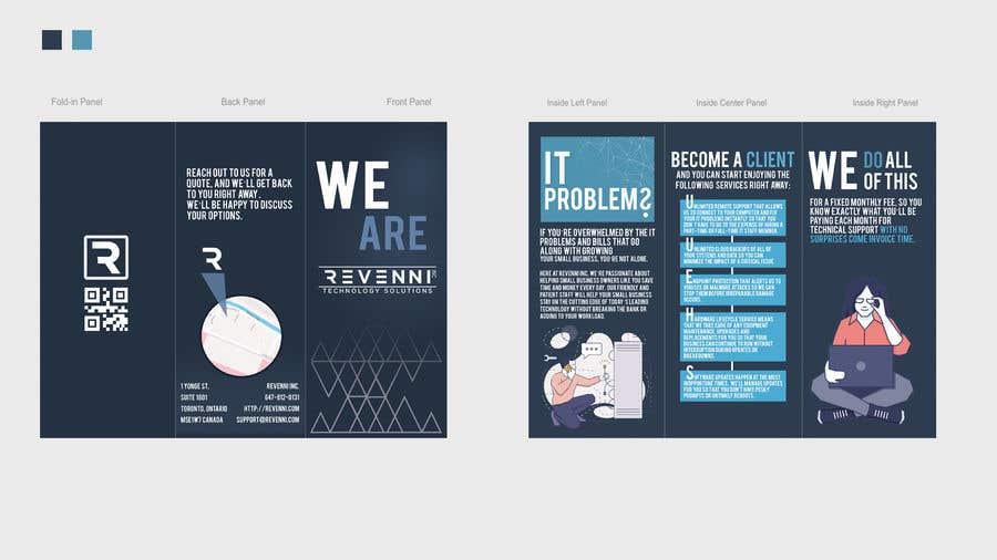 Inscrição nº 13 do Concurso para Color Tri Fold Business Brochure
