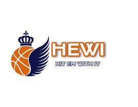 #10 untuk Would like logo to incorporate something with basketball in it. The name I would like to have with it is Hit Em Wit It and HEWI. I have attached an older logo with the name that I would like to have with the logo. oleh tafoortariq