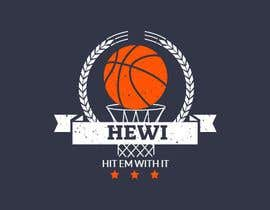 nº 13 pour Would like logo to incorporate something with basketball in it. The name I would like to have with it is Hit Em Wit It and HEWI. I have attached an older logo with the name that I would like to have with the logo. par tafoortariq