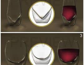 #9 for Create design for a stemless wine glass (non-breakable/heavier) af soumen59