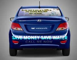 nº 22 pour Sign back of my car Business advertising par MohamedElQatary