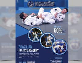 #2 สำหรับ I need a martial arts flyer for a Brazilian jiu-jitsu academy โดย SLP2008