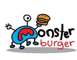 #38 para I wanna make logo for a restaurant,, the restaurant name ( monsters burgers) i post some photos I would like if the logo like thise stuff they looks like what i am imagination for the monster. de nursyaffa97