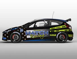 nº 56 pour Rally Car Vehicle Wrap par wilsonomarochoa