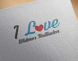 #47 para I Love Widmer Rollladen merchandising por atiqurrahmanm25