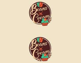 """harmeetgraphix tarafından Design a Logo Design  for an Upcoming Bakery to be named as 'BEANS N CREAM"""" with complete Visual Language(Typography, Colors-Palette) için no 133"""