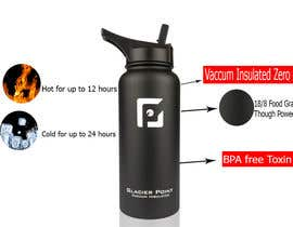 #7 for product Infograph for a water bottle by DesignSD21