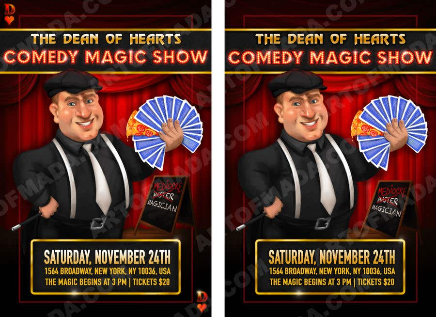 Magic Show flyer creation | Freelancer