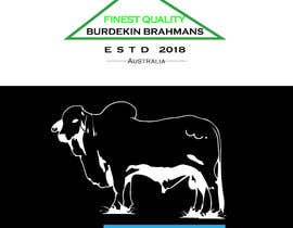 #42 for We sell Brahman bulls and want to create a logo for our business named ( Burdekin Brahmans ) something that represents our business. Our bulls are bred on the Burdekin river and wanted to include a Brahman bull, river or something simple. by creativeshihab