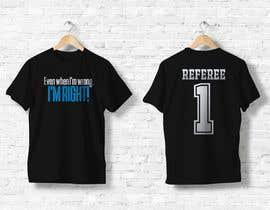 nº 37 pour Referee T-Shirt Design par josepave72